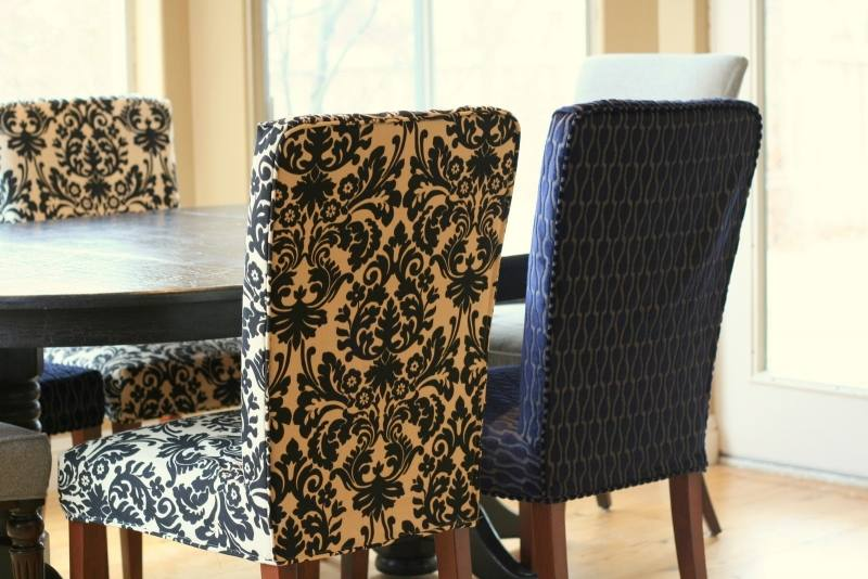 Kitchen Chair Fabric Ideas