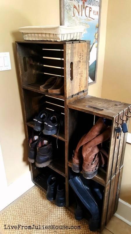 shoes rack shelves