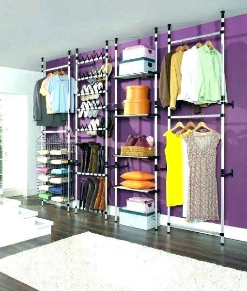 closet for doll clothes storage ideas via lilblueboo