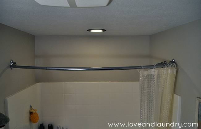 A combined tub and shower: making the shower area larger, but the  combination pretty standard size