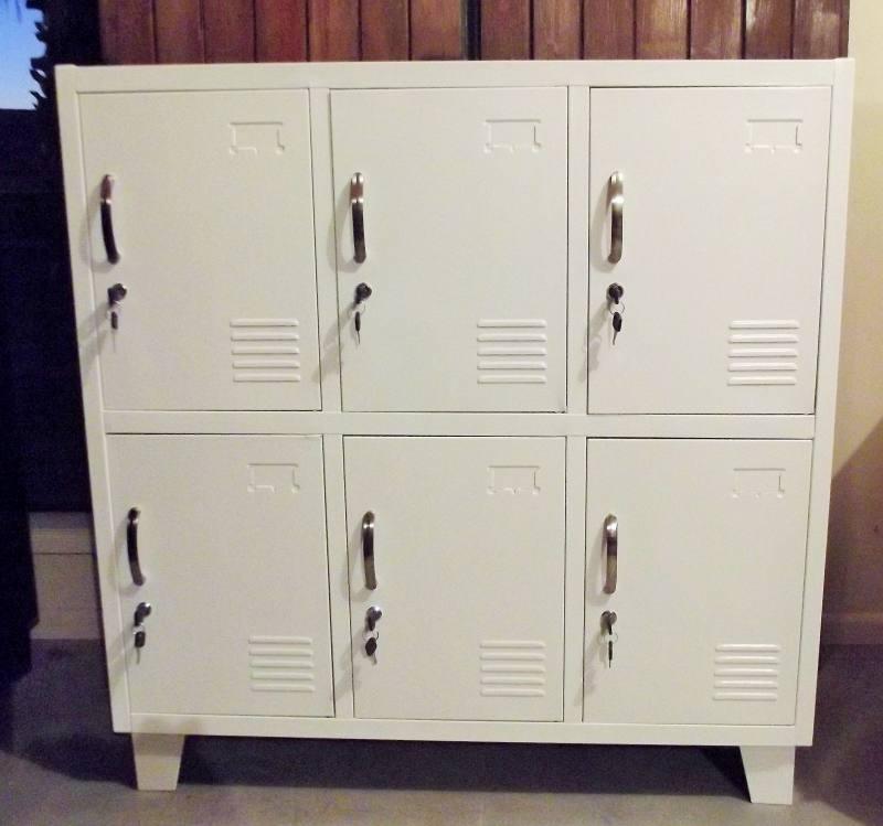 White 7 Locker
