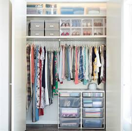 closet ideas for small