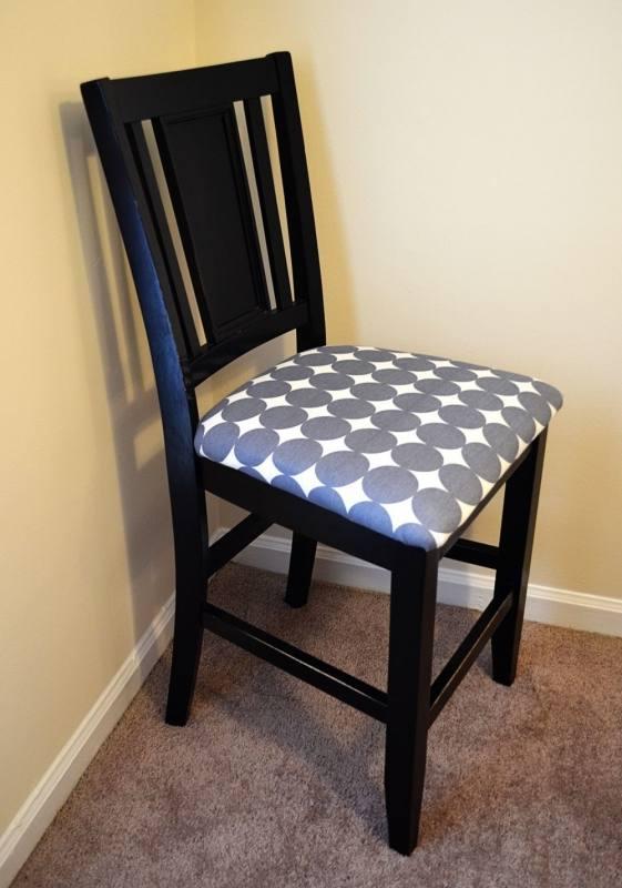 Reupholster Kitchen Chair Ideas