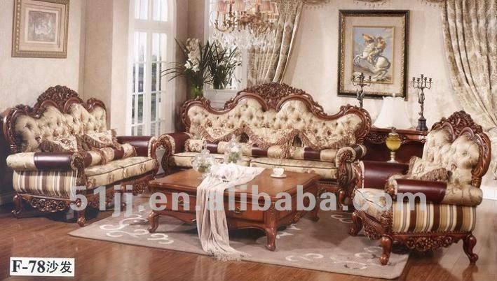 Wood Furniture Sofa