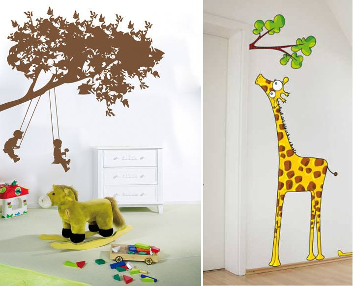 Hot 3D wall stickers