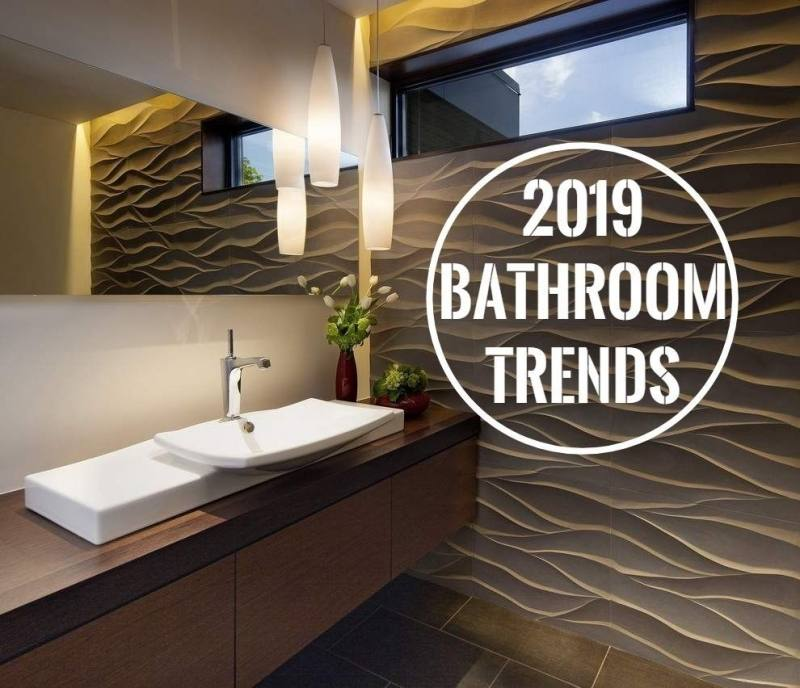 The report identifies key design trends in kitchen and baths