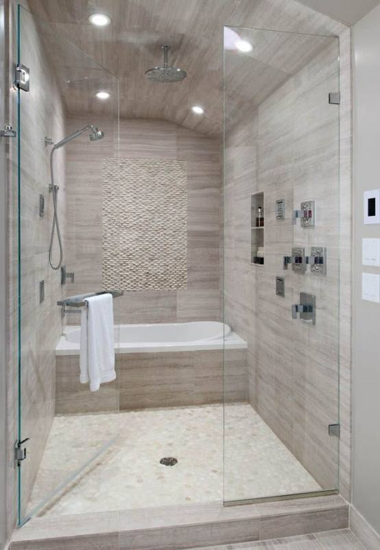 Whatever your lifestyle, you'll appreciate the versatility of a shower and  a bath combined