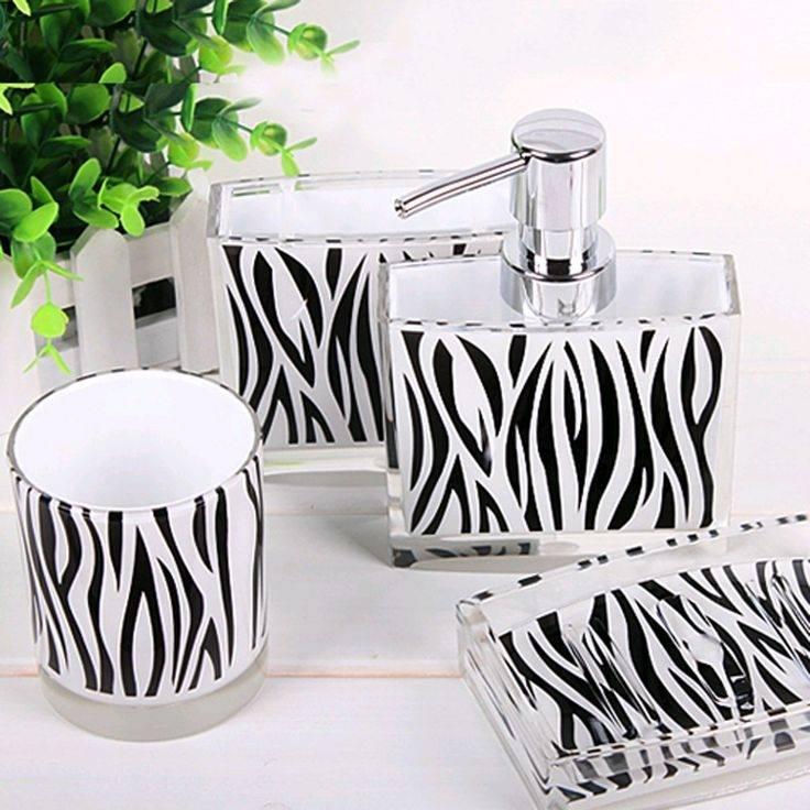 Wonderful Zebra Bathroom Decorating Ideas