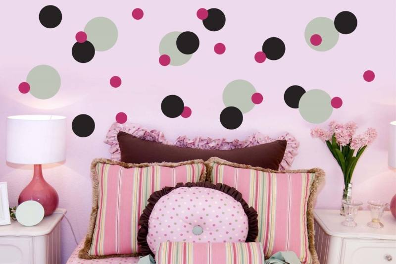 Star Wall Decals Vinyl Star Decals Nursery Bedroom Set of Star Decals Vinyl  Decals Girls Boys Accent Wall Star Decals Housewares Add fun to your walls  with