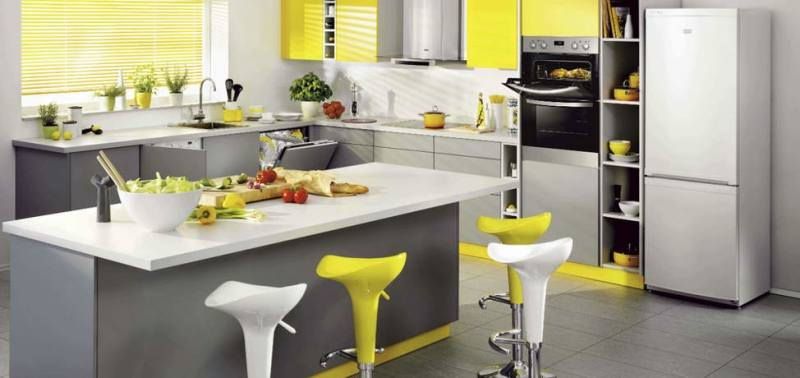 Yellow Kitchens Ideas Yellow Kitchen Walls With White Cabinets
