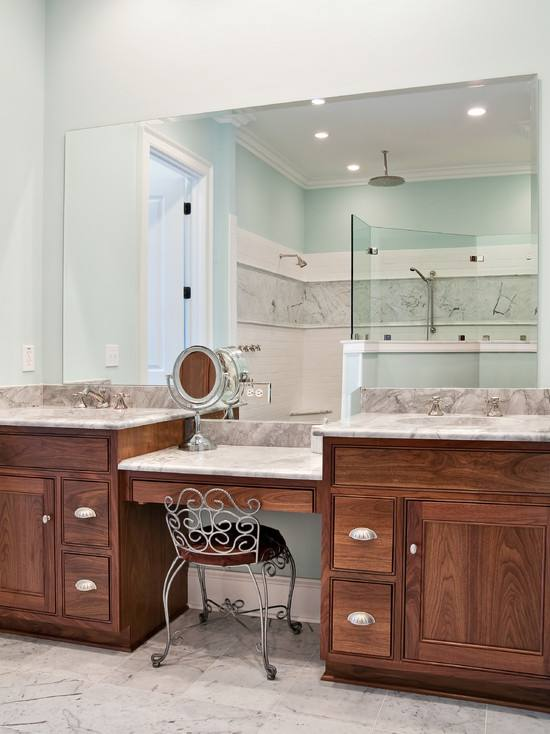 vanity with makeup counter bathroom vanities sitting area best ideas on  within count