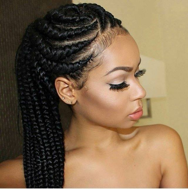 Of course, nothing can beat the latest Ghana weaving hairstyles in Nigeria  in popularity among Nigerian women