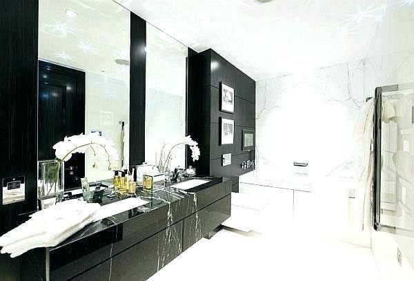 Bathroom ~ Black White And Gold Bathroom Decor • Bathroom Decor