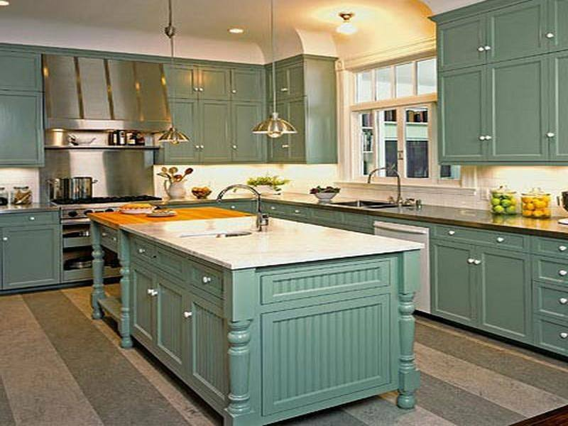 olive green walls white trim kitchen with olive green walls wood counters  and open shelves nice