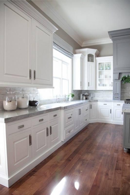 Trendy Design Ideas Of Grey Kitchen Cabinets