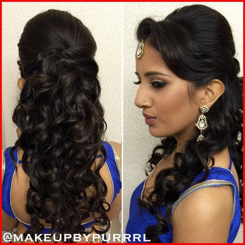 Hairstyle For Bride On Saree: Hair Styles With Saree