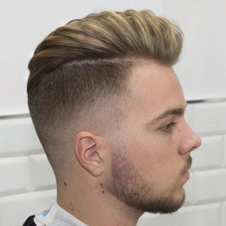 Men Fade Hairstyles 2018