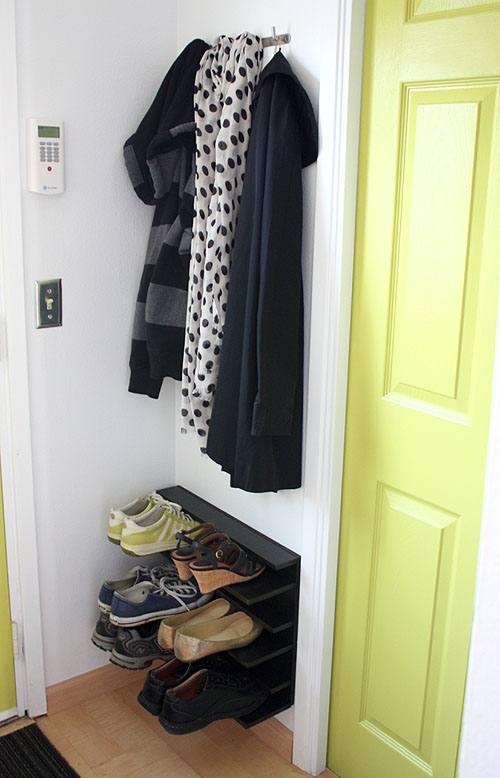 small shoe storage