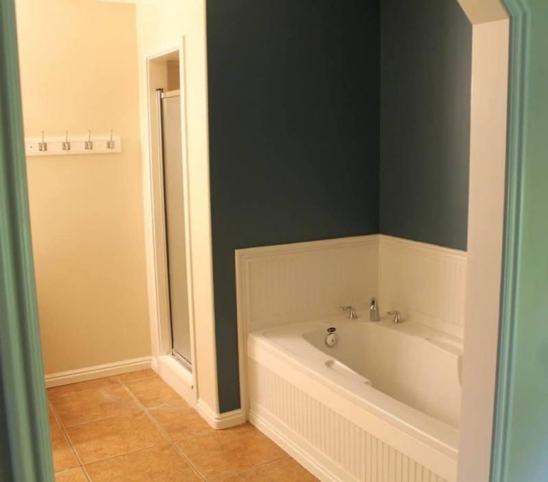 This single piece  bathtub/shower