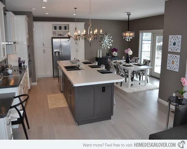 Kitchen Ideas Grey Walls