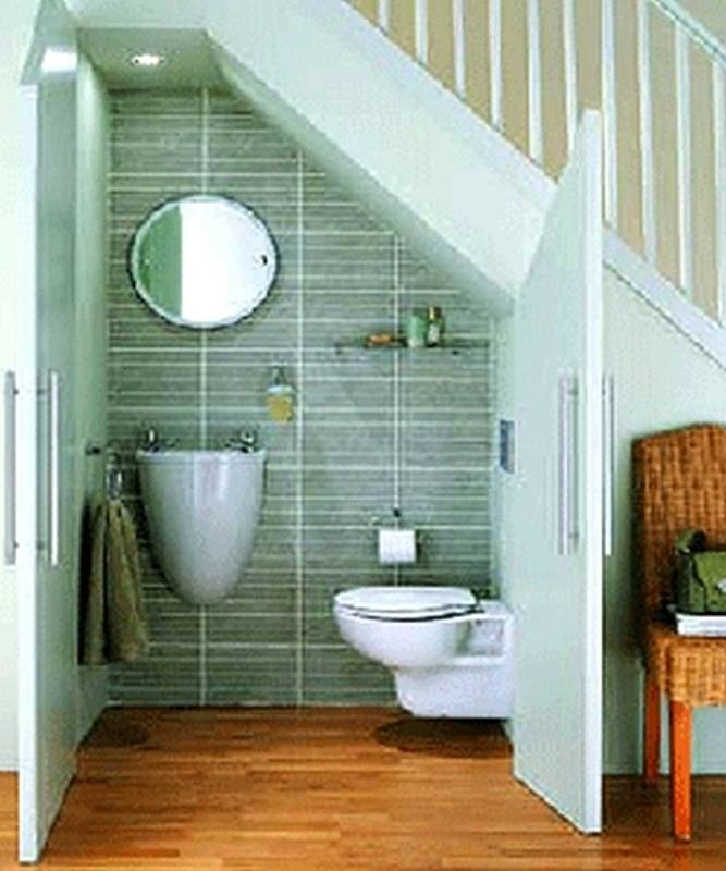 These are the tiny bathroom ideas