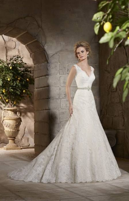 Caekee Short Lace Wedding Dress T801525385452