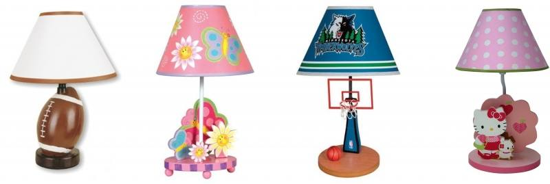 Mediterranean Cute Kid's Room Table Lamp Creative Bedroom Bedsides Desk  Lamp Children's Study Room