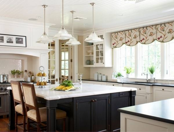 modern kitchen valance