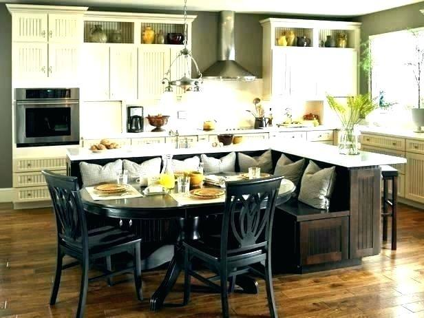 kitchen island table combo