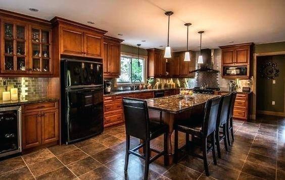kitchen designs with black appliances kitchen