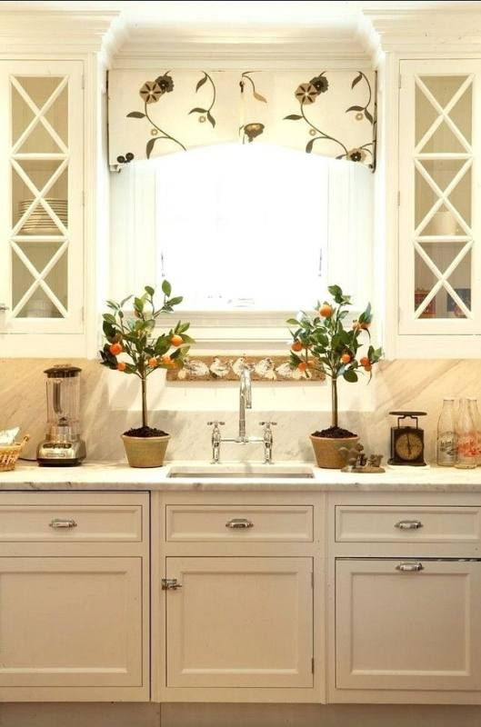 kitchen valance ideas no sew tutorial ll possibly in the cabinet wood