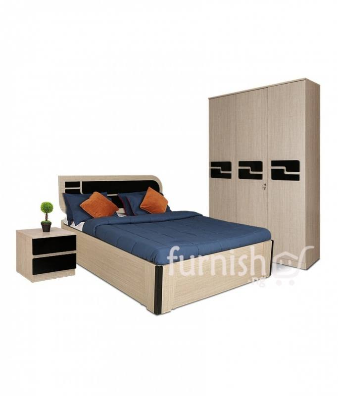 Renne Bed Wardrobe Set