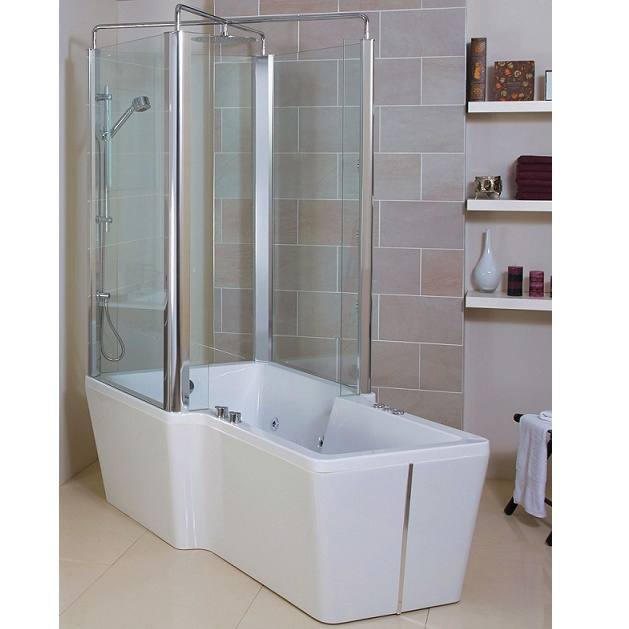 Phoenix Poseidon Freestanding Whirlpool Bath And Shower