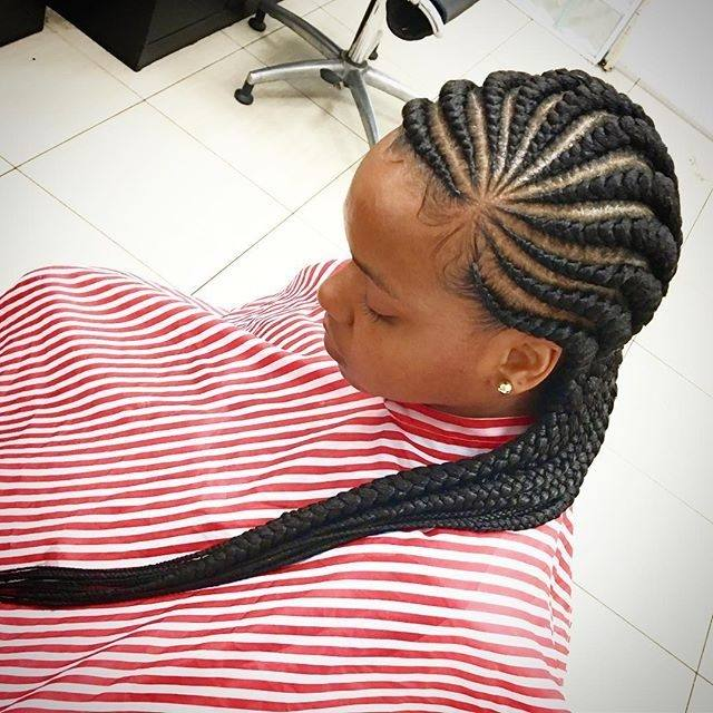 Besides, it is a creative option for both long weavon styles and short  weavon hair style fans