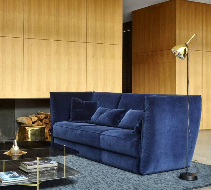 Audrey L Shape Corner couch Set in pune