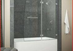 needs fixed curtain? | bathroom  ideas | Pinterest | Frameless glass shower doors, Shower doors and Tubs