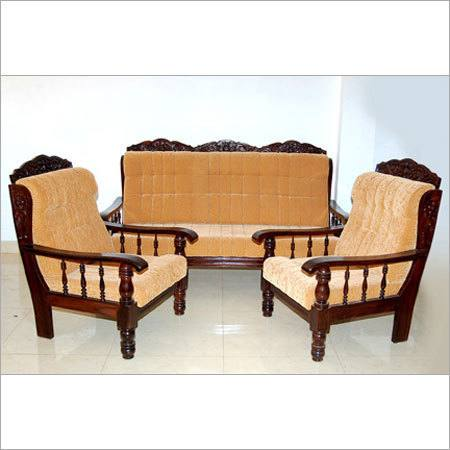 wooden sofa set design A92
