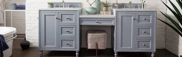 bathroom vanities with makeup