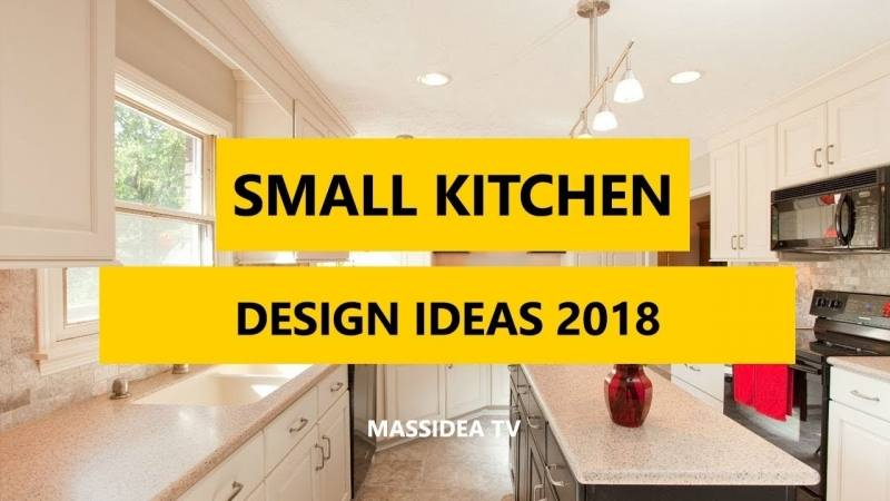 Good Picture Of Small Kitchen Decoration Using Yellow Paint Wooden Kitchen Vent Hood Including White Granite Kitchen Counter Tops And Yellow Kitchen Wall