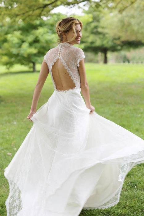 Summer Moira Hughes Bridal designer sydney silk couture wedding dress