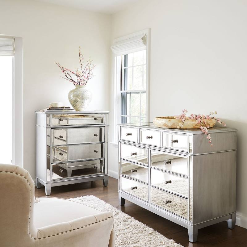 Mirrored Bedroom Furniture From £159