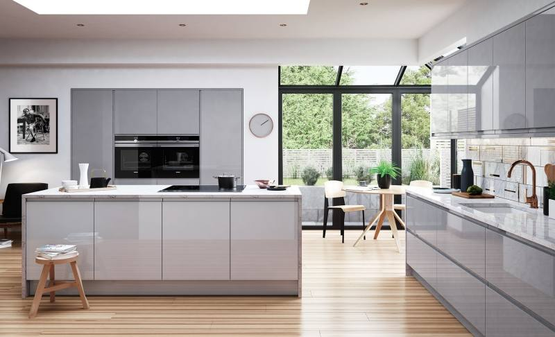 25 Best Grey Shaker Kitchen Ideas On Pinterest Warm Grey regarding Grey  Kitchen Ideas