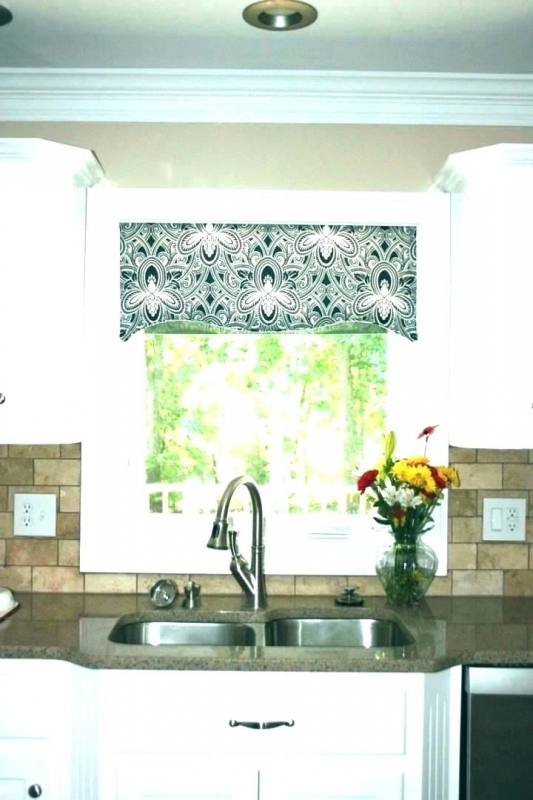 Kitchen Valance Ideas Bay Window