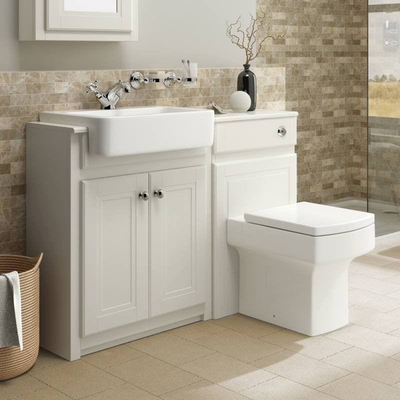 Extraordinary Oak Bathroom Vanity Unit Basin Nity Unit Wash Stand Sink Basin  Solid Oak Bespoke Rustic Finish Extremely Bathroom Units Free Standing  Bathroom