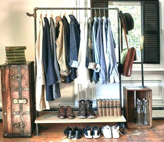 a closet stuffed to overflowing with clothes? Rarely, if ever