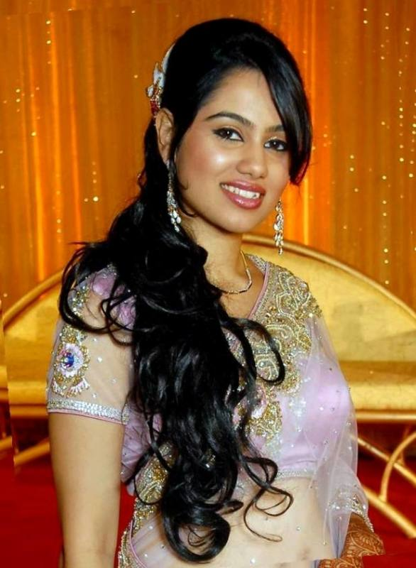 indian long hairstyles saree : Curly Hair Awesome Chic And Easy Rhhollywoodhillsus Wedding Messy Braid Bridal