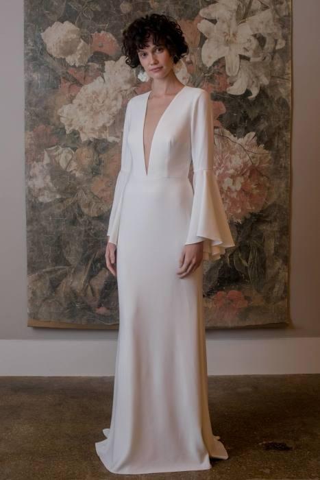 Crystal 2016 Aso Ebi Style Mermaid Wedding Dresses Sheer Neckline Long Sleeves Gold Feathers Chapel Train Plus Size Nigerian Bridal Gown Mermaid Bridal