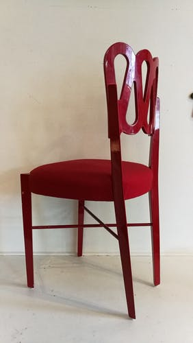 Model: The red chair