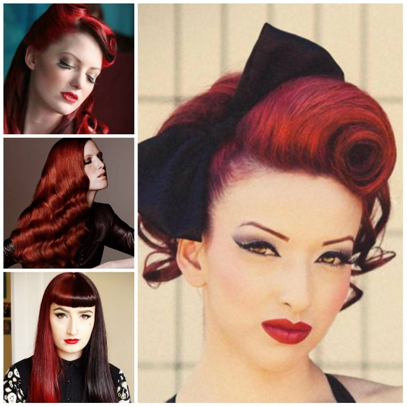 Retro Pin Curl: If you're looking to make a statement, this is the style for you