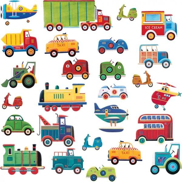 Transport Wall Stickers; Boys Transportation
